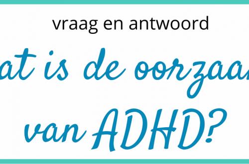 Wat is de oorzaak van ADHD?