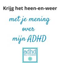 "ADHD bij vrouwen ADHD-vrouw ""heb jij ADHD?"""