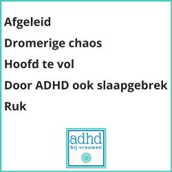 ADHD bij Vrouwen gedichtje over ADHD