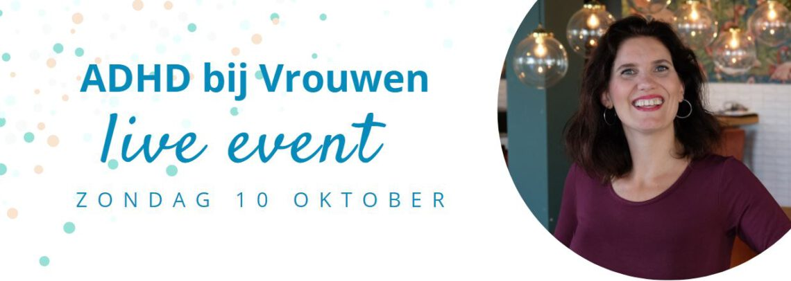adhd-vrouw event